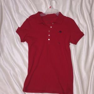 Red boys Aeropostale's T-Shirt